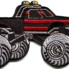 Monster truck 4 X 4 pickup auto applique iron-on patch new S-1130 FREE WORLDWIDE DELIVERY!