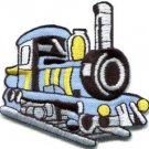Train engine choo choo railroad retro applique iron-on patch S-319 WE SHIP ANYWHERE FOR FREE!