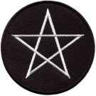Wiccan pentagram pentacle wicca witchcraft applique iron-on patch S-1126 FREE SHIPPING WORLDWIDE!