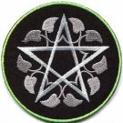 Wiccan pentagram pentacle wicca witchcraft applique iron-on patch G-159 WE SHIP ANYWHERE FOR FREE!