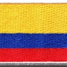 Flag of Colombia Colombian applique iron-on patch Medium S-1144 - FREE WORLDWIDE DELIVERY!