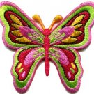 Butterfly insect retro hippie boho applique iron-on patch new S-178 WORLDWIDE DELIVERY IS FREE!