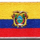 Flag of Ecuador embroidered applique iron-on patch Medium S-1146 FREE SHIPPING WORLDWIDE!