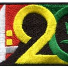 4:20 logo marijuana pot leaf cannabis weed 420 iron-on patch S-1573 WORLDWIDE DELIVERY IS FREE!