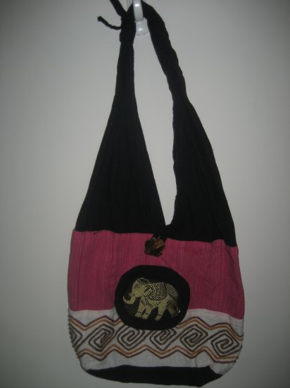 elephant handmade bag