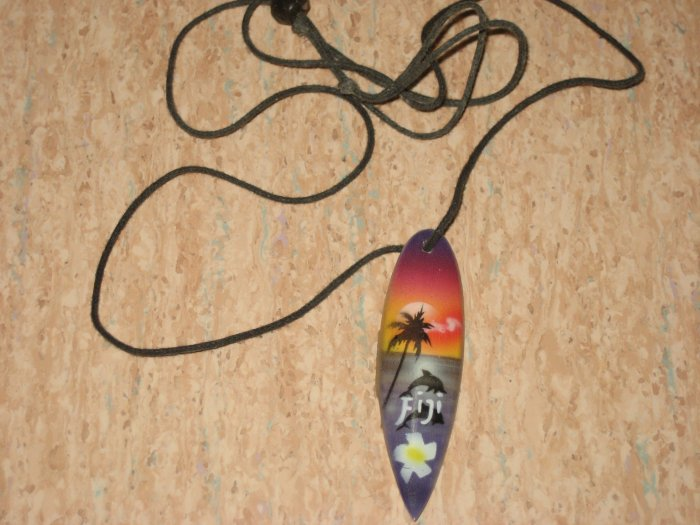 painted necklace