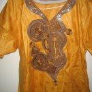 yellow gambian dress