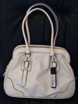 White Handbag by VANI