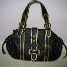 Black and Gold Handbag from VANI