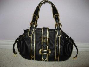 Black and Gold Handbag from VANI