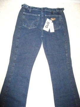 Pair of Ladies Jeans by D&G - Size 28 / 42