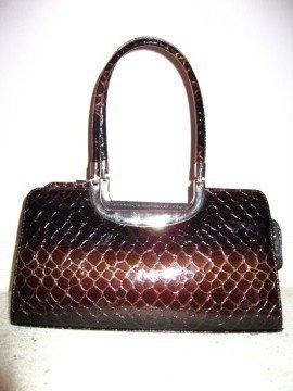 Coffee Brown Handbag by VANI