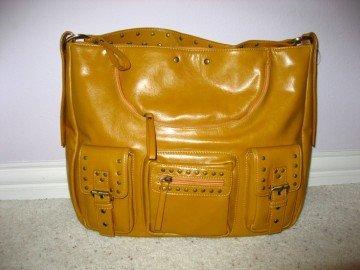 Light Brown Handbag by VANI