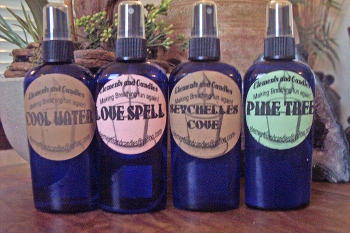 Linen & Body Sprays (set of 4)