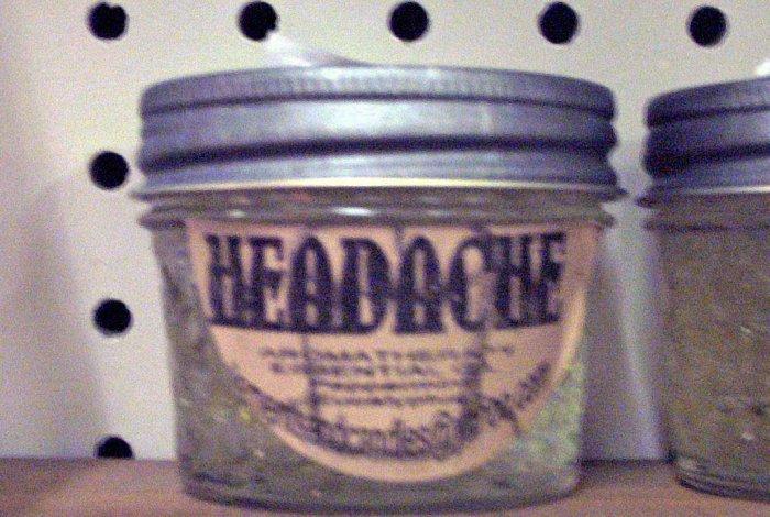 Smelly Jelly-Headache Relief