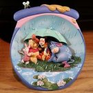 Disney Pooh's Hunnypot Adventures Bradford Exchange Collector Plate