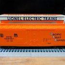 Lionel Pacific Fruit Express Reefer O Scale 027 Gauge