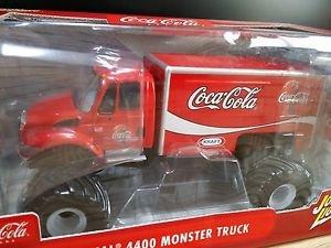 International 4400 Monster Truck Coca-Cola Johnny Lightning