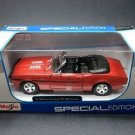 1968 Chevrolet Camaro SS 396 Convertible Maisto Special Edition 1:24 Diecast