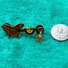 Hard Rock Cafe Toronto Butterfly Guitar Limited Edition Pin