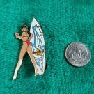 Hard Rock Cafe Miami Summer Surfer Girl #1 Limited Edition Pin
