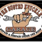 Busted Knuckle Garage Refrigerator Ice Box Magnet