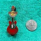 Hard Rock Cafe Sacramento 9th Anniversary Guitar Limited Edition Pin
