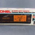 Lionel TCA 23rd National Convention Houston Texas 1977 O/027 Gauge