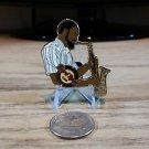 Hard Rock Cafe Washington DC Saxophone Man 2009 Limited Edition Pin