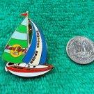 Hard Rock Cafe Newport Beach Sailboat Pin