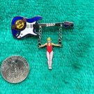 Hard Rock Cafe Baltimore Gymnast Guitar Limited Edition Pin