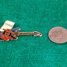 American Bandstand Grill Indianapolis Guitar Pin