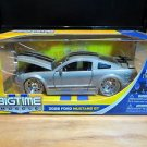 2006 Ford Mustang GT Bigtime Muscle Jada 1:24 Scale Diecast Gray