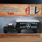 AHL American Highway Legends Mack Model BM Ballantine's Ales Beer Truck 1:64