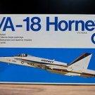 F/A-18 Hornet Strike Fighter Airplane Model Kit 1:72