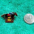 Hard Rock Cafe Baltimore Jockey on Horse 1998 Preakness Pin