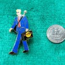 Hard Rock Cafe Dallas Business Man with Guitar Brief Case Limited Edition Pin
