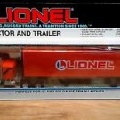 Lionel Tractor and Trailer Diecast O/027 Gauge