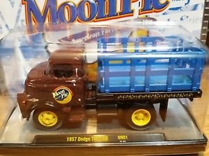 M2 Machines Moon Pie 1957 Dodge 700 COE 1:64 Diecast