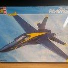 Revell F/A-18 Hornet Blue Angels Airplane Model Kit 1:48
