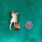 Hard Rock Cafe Hollywood Waitress with Red Guitar Pin