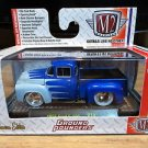 M2 Machines 1956 Ford F-100 Pickup Truck Ground Pounders R14 1:64 Diecast