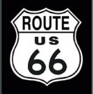 Route 66 Shield Refrigerator Ice Box Magnet
