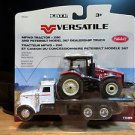 Ertl Peterbilt 367 with Versatile 290 MFWD Tractor 1:64 Diecast
