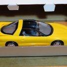 1993 Pontiac Firebird Sunfire Yellow Promo Car AMT Ertl