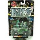 Kiss Hot Rockin' Steel Diecast Signatures Superstars 1:64 Scale
