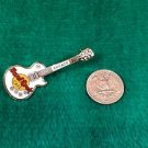 Hard Rock Cafe Chicago White Les Paul Guitar Pin