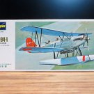 Hasegawa Kawanishi Type-94 E7K1 Reconnaissance Seaplane Alf Bi-Plane Model 1:72