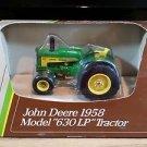 1958 John Deere Model 630 LP Row Crop Wide Front Tractor Ertl 1:43 Diecast
