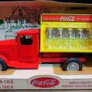 1930's Coca-Cola Bottling Truck with 10 Miniature Coca-Cola Bottles